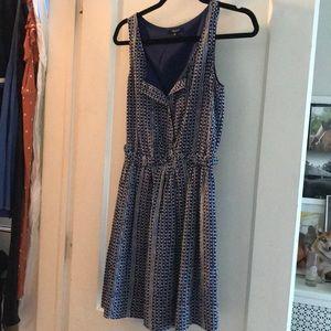 Madewell navy blue dress size 0